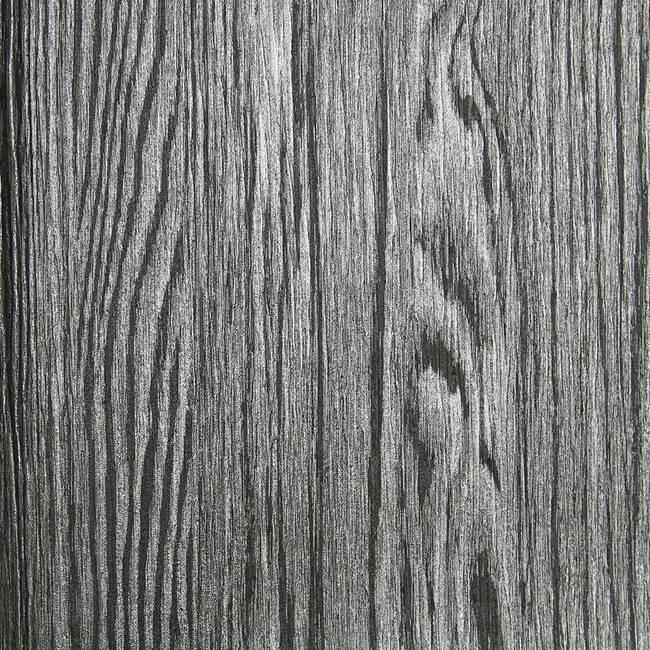 Dark Grey and Silver Textured Wood Grain
