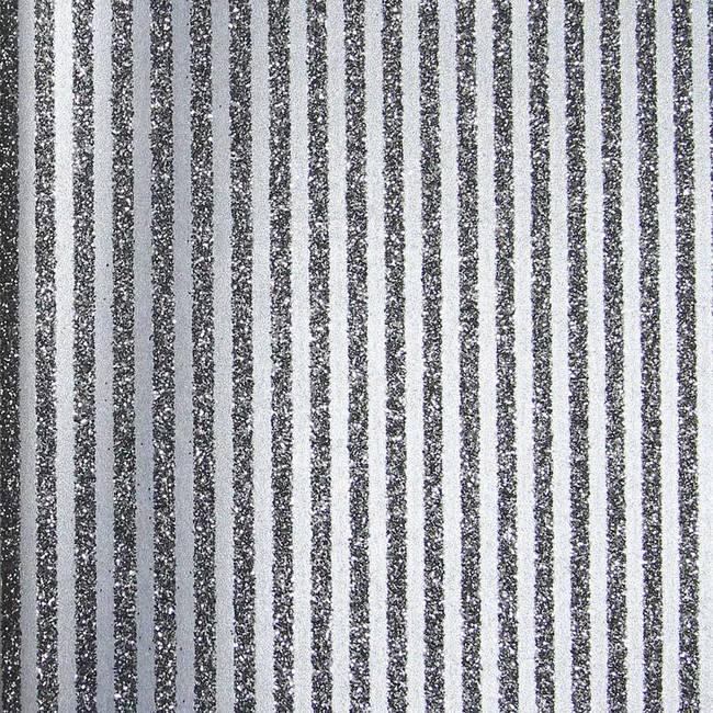 Black Glitter Stripes
