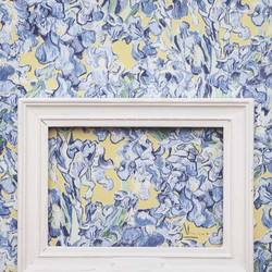 Irises Blue Yellow