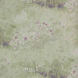 Daubigny's Garden Light Green with Pinks