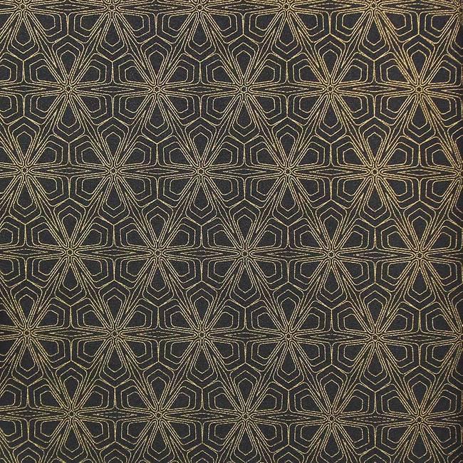 Black and Gold Geometric