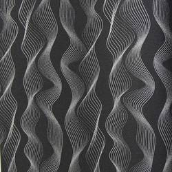 Black and Silver Vertical Waves