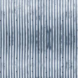 Corrugated - Blue