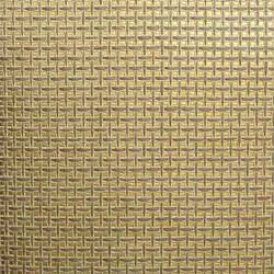 Beige and Cream Paper Weave on Gold - WND201