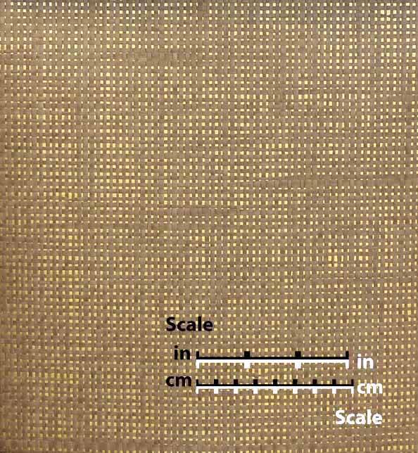 Beige Paper Weave on Gold - WND203
