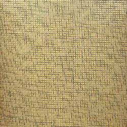 Salt and Pepper Paper Weave on Gold - WND206