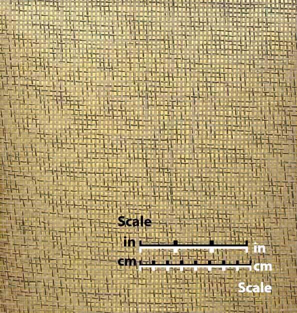 Salt and Pepper Paper Weave on Gold - WND206