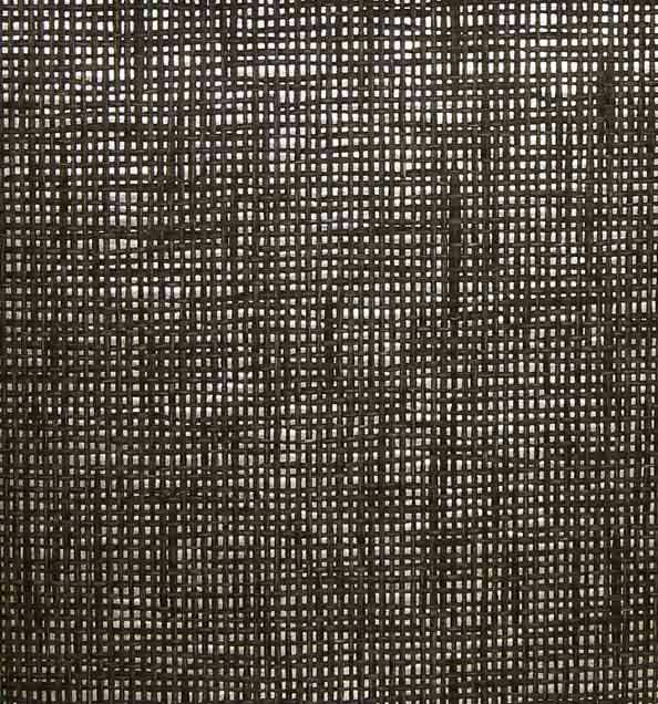 Black and Grey Paper Weave on Silver - WND208