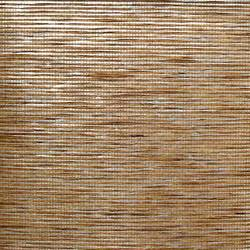 Brown Striped Paper Weave on Silver - WND210