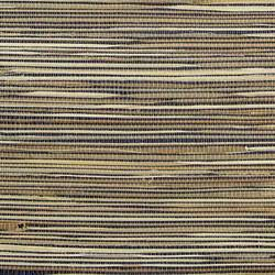 Tan on Black Grasscloth  - WND253