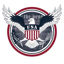 American Eagle - Wall Decal