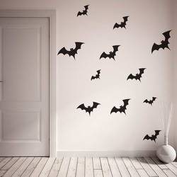 High Quality Family Of Bats   Halloween Wall Decal