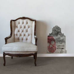 In Loving Memory - Halloween Wall Decal