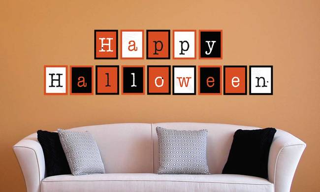 Happy Halloween - Halloween Wall Decal