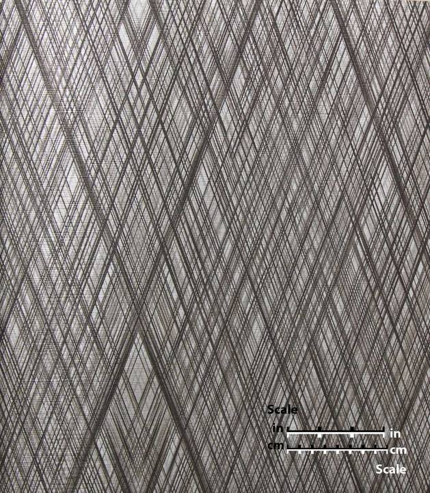 D822 Striated Diamond