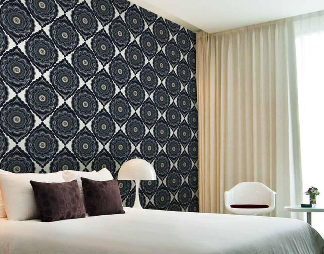 Gypsy, Denim - Wallpaper Tiles