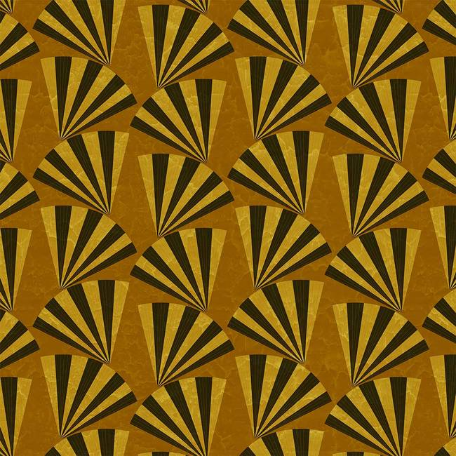 Dita, Gilded - Wallpaper Tiles