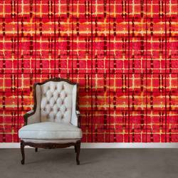 Dreams, Red - Wallpaper Tiles