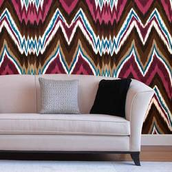 Glam Rock IKAT - Wallpaper Tiles