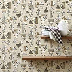 Tom Tom, Clay - Wallpaper Tiles