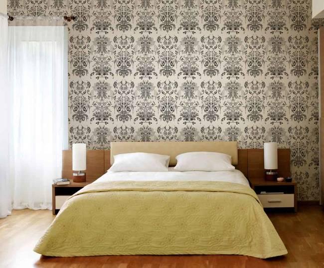 Willow Fern, Nite - Wallpaper Tiles
