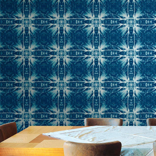 Synthesis, Cyanotype - Wallpaper Tiles