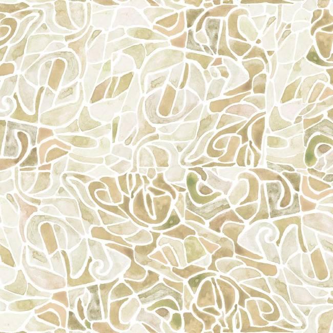 Parcel, Grain - Wallpaper Tiles