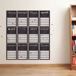 2017 Calendar - Wall Decal
