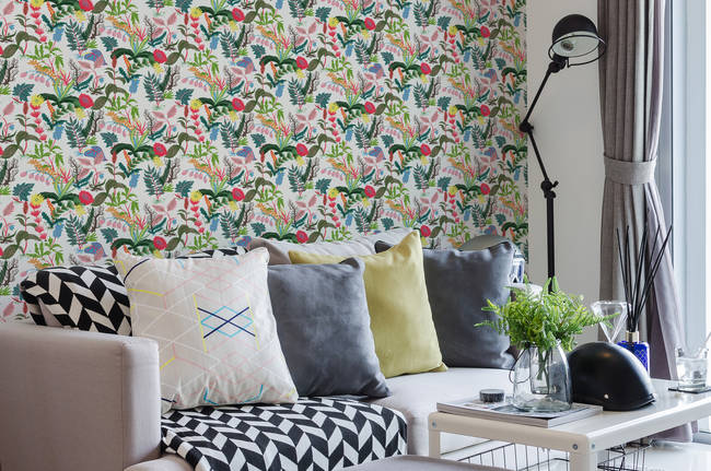 Undergrowth - Wallpaper Tiles