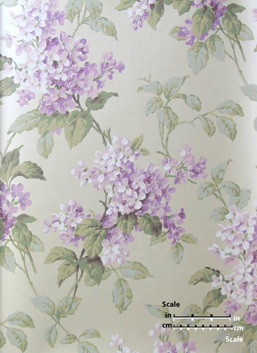 Purple Flowers EG1218 St. Regis Collection