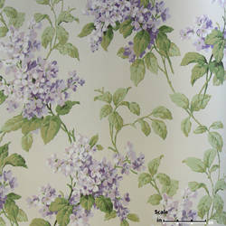 Green Purple Foral EG1216 St. Regis Collection
