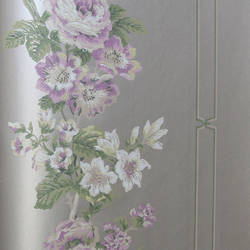 Purple Floral EG1274 St. Regis Collection