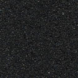 Black Glass Beads - Large