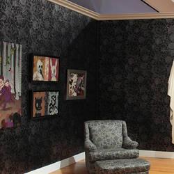 Wall Flower - Gary Baseman Wallpaper Tile