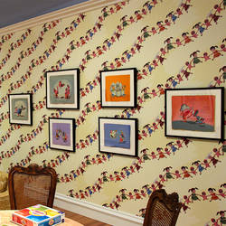 Giggle Pop - Gary Baseman Wallpaper Tiles