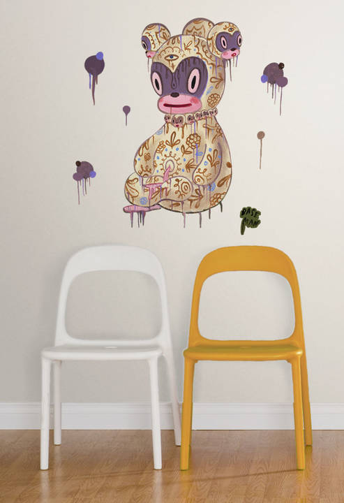 The Enlightened Chou - Gary Baseman - Wall Decal