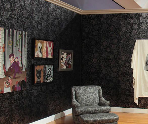 Wall Flower - Gary Baseman Wallpaper