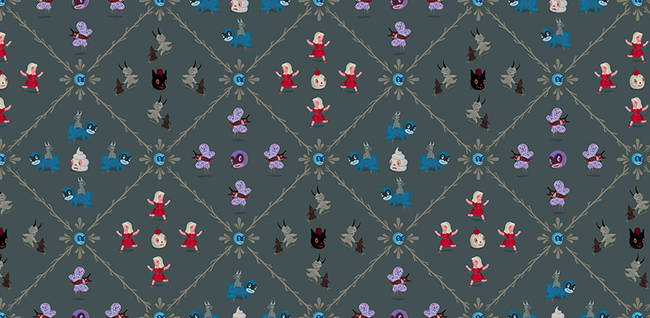 Play Time - Gary Baseman Wallpaper