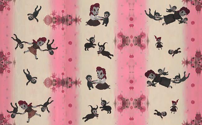 Vicious - Gary Baseman Wallpaper