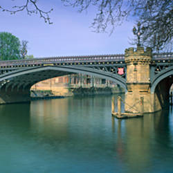 Bridge across a river, Skeldergate Bridge, Ouse River, York, North Yorkshire, England