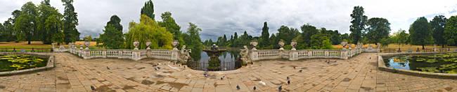 Italian Gardens in Kensington Gardens, London, England