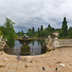 Italian Gardens in Kensington Gardens, London, England