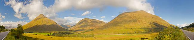 Beinn Dorain and Glen Lyon, Highlands Region, Scotland