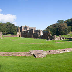 Ruins of a monastery, Furness Abbey, Barrow-In-Furness, Cumbria, England
