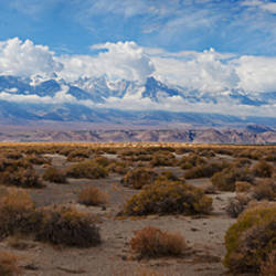Death Valley landscape, Panamint Range, Death Valley National Park, Inyo County, California, USA