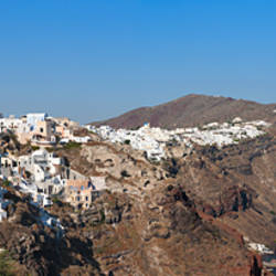 Village on a cliff, Oia, Santorini, Cyclades Islands, Greece
