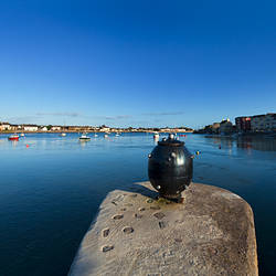 A World War 2 Anti-Shipping Mine, in Dungarvan Harbour,County Waterford, Ireland
