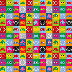 Space Invaders, Multi-Color