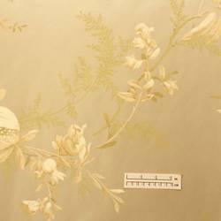 Traditional beige floral wallpaper: NL-1365