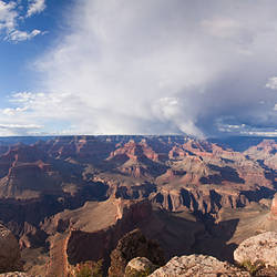 View of Grand Canyon from Shoshone point south rim, Grand Canyon National Park, Arizona, USA
